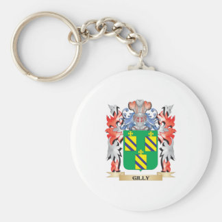 Gilly Coat of Arms - Family Crest Key Ring