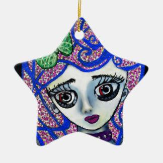Gilly the Sad Emo Ceramic Ornament
