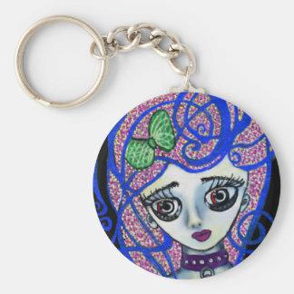 Gilly the Sad Emo Key Ring