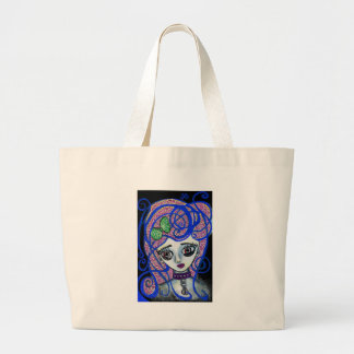 Gilly the Sad Emo Large Tote Bag