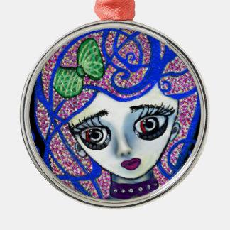 Gilly the Sad Emo Metal Ornament