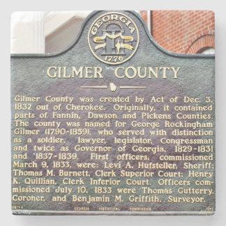 Gilmer County, Georgia, Historical Marker Coaster