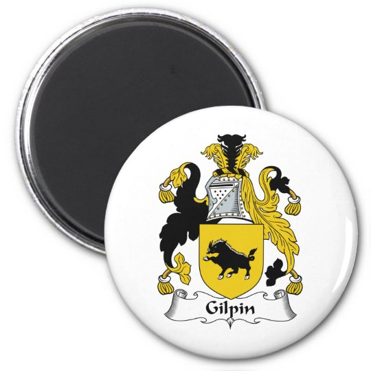 Gilpin Family Crest Magnet
