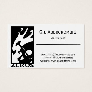 Gil's Business Card (pack of 100)