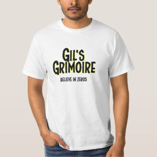 Gil's Grimoire, Simple Graphic Tee