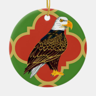 Gilwell Eagle Quatrefoil Ornament