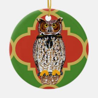 Gilwell Owl Quatrefoil Ornament