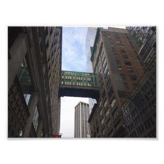 Gimbels Sky Bridge New York City NYC Photography Photo Print
