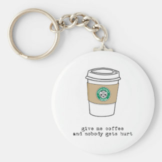gimme coffee key ring