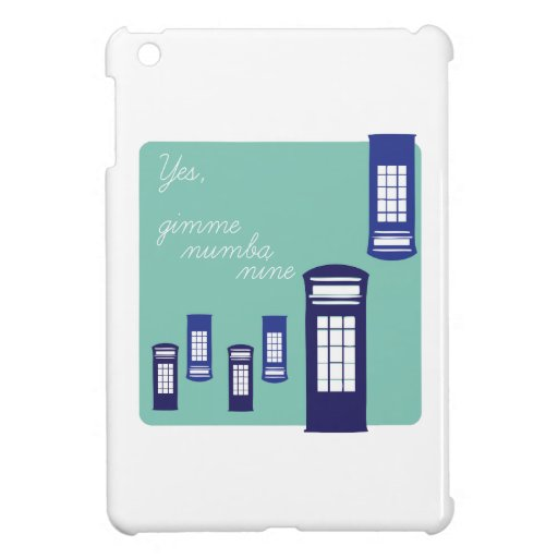 Gimme Number Nine Cover For The iPad Mini