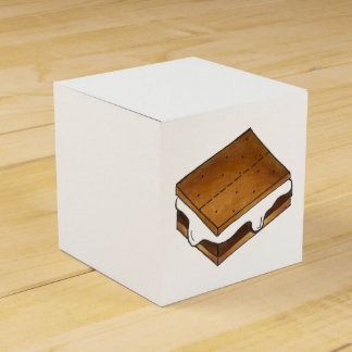 Gimme S'more! Homemade Campfire Smores Treat Box Favour Box