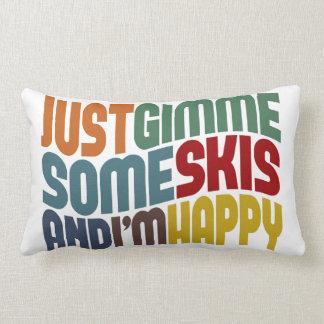 Gimme Some Skis Lumbar Cushion