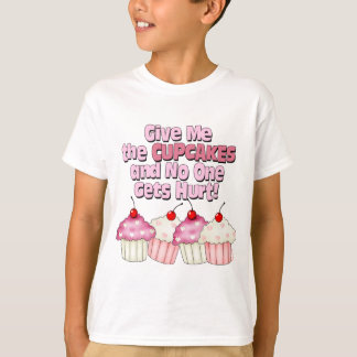 Gimme the Cupcakes Tshirts