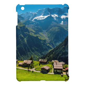Gimmelwald In Swiss Alps - Switzerland iPad Mini Cases
