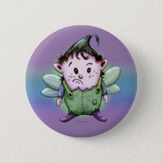 GIMY FUNNY ALIEN CARTOON  Button 2¼ Inch