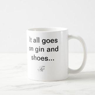 Gin and Shoes Mug