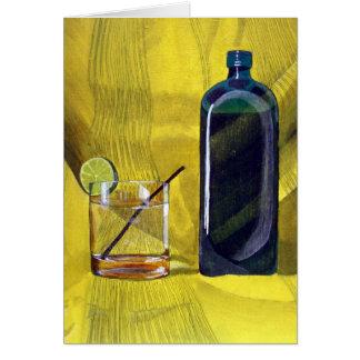 Gin Fizz (Detail) Card