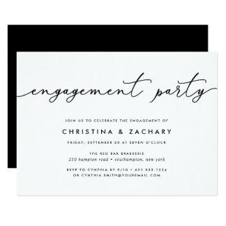 Gin Lane | Engagement Party Invitation