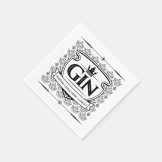 Gin napkins disposable serviette