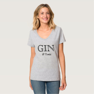GIN & Tonic Favorite Drink Teez T-Shirt