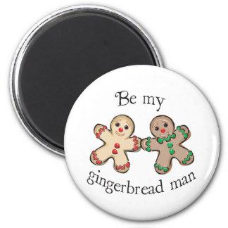 ginger 6 cm round magnet