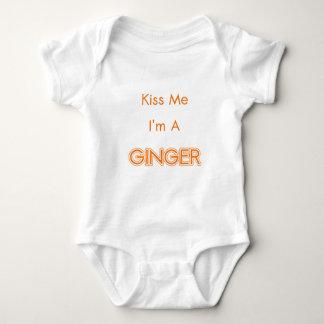 GINGER BABY BODYSUIT