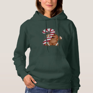 Ginger Bread Basic Womens Hoodie