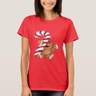 Ginger Bread Basic Womens T-shirt