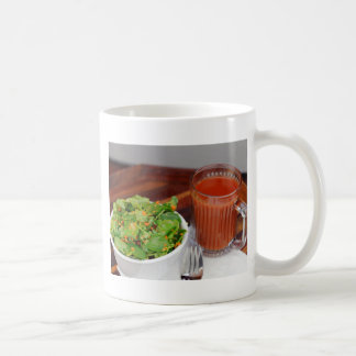 Ginger Carrot Tomato Dressing Watercress Salad Coffee Mug