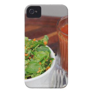 Ginger Carrot Tomato Dressing Watercress Salad iPhone 4 Case