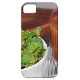 Ginger Carrot Tomato Dressing Watercress Salad iPhone 5 Covers