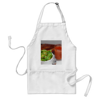 Ginger Carrot Tomato Dressing Watercress Salad Standard Apron