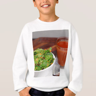 Ginger Carrot Tomato Dressing Watercress Salad Sweatshirt
