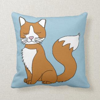 Ginger Cat Cushion