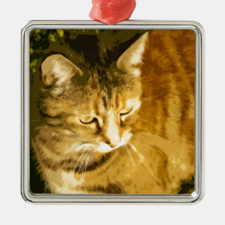 Ginger cat ornament