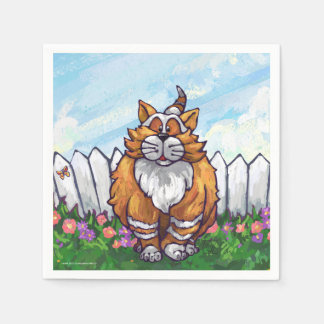 Ginger Cat Gifts & Accessories Paper Serviettes