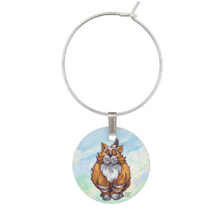 Ginger Cat Gifts & Accessories Wine Glass Charms