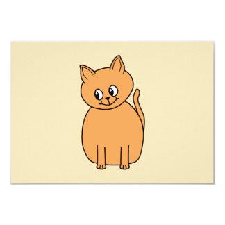 Ginger Cat. 3.5x5 Paper Invitation Card