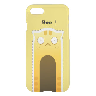 Ginger Cat iPhone deflector case