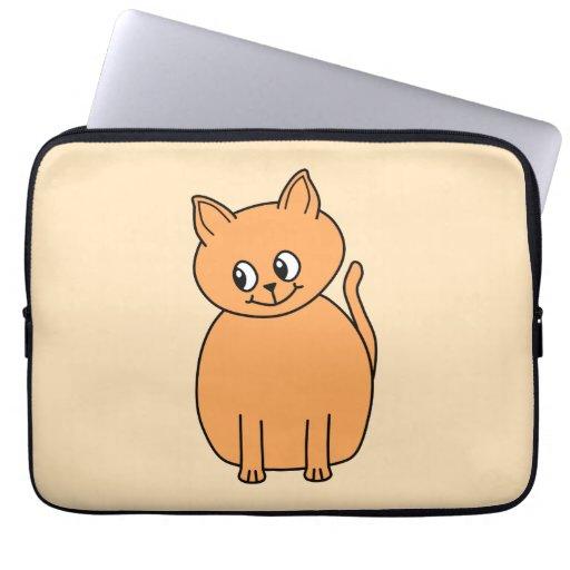 Ginger Cat. Laptop Sleeve