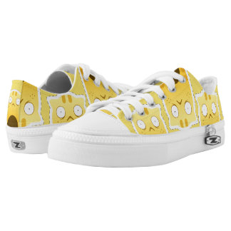 Ginger Cat low shoes Printed Shoes
