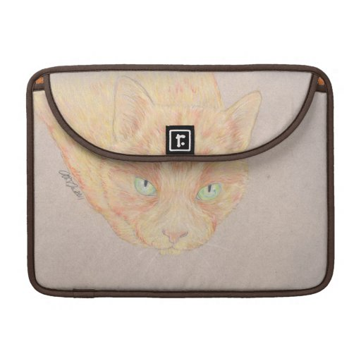 Ginger Cat Macbook sleeve MacBook Pro Sleeves