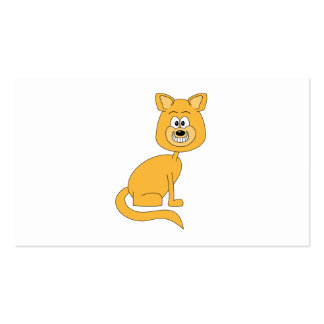 Ginger Cat. Pack Of Standard Business Cards