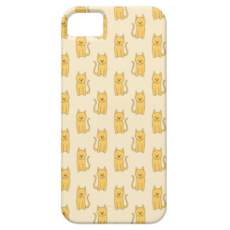 Ginger Cat Pattern. iPhone 5 Cover