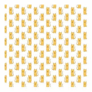 Ginger Cat Pattern. Acrylic Cut Outs
