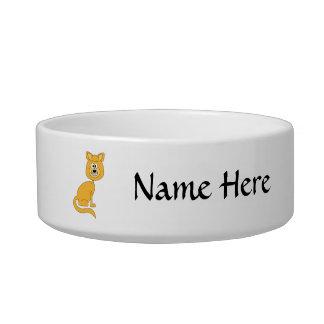 Ginger Cat Cat Bowls