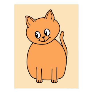 Ginger Cat. Post Cards