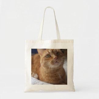 Ginger Cat Tote Bag