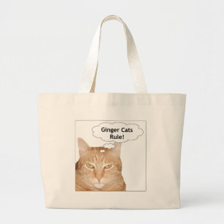 Ginger Cats Rule Bag
