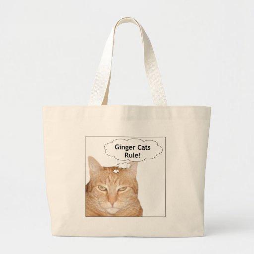 Ginger Cats Rule! Bag